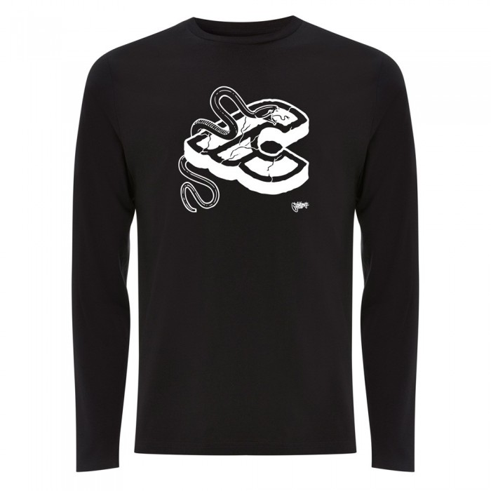 MIKE GIANT BLACK LONG SLEEVE T-SHIRT