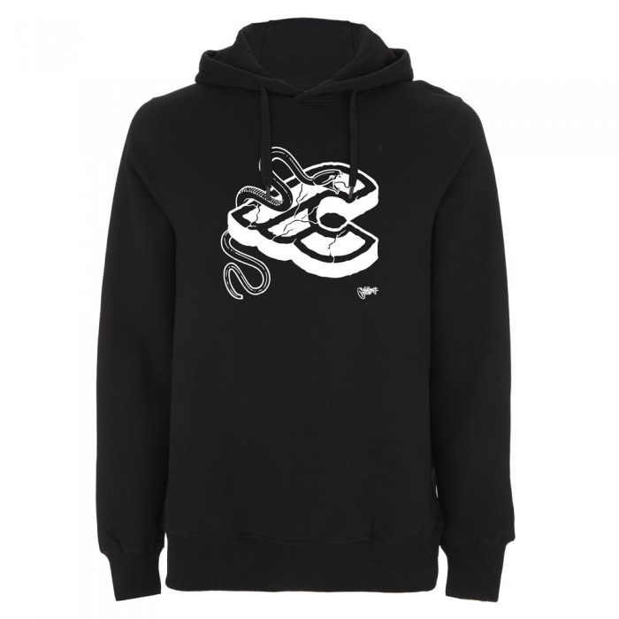 MIKE GIANT BLACK HOODIE SWEATSHIRT