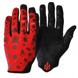 MIKE GIANT RED GIRO DND GLOVES X CINELLI