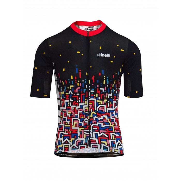 YOON HYUP 'CITY LIGHTS' CYCLING JERSEY