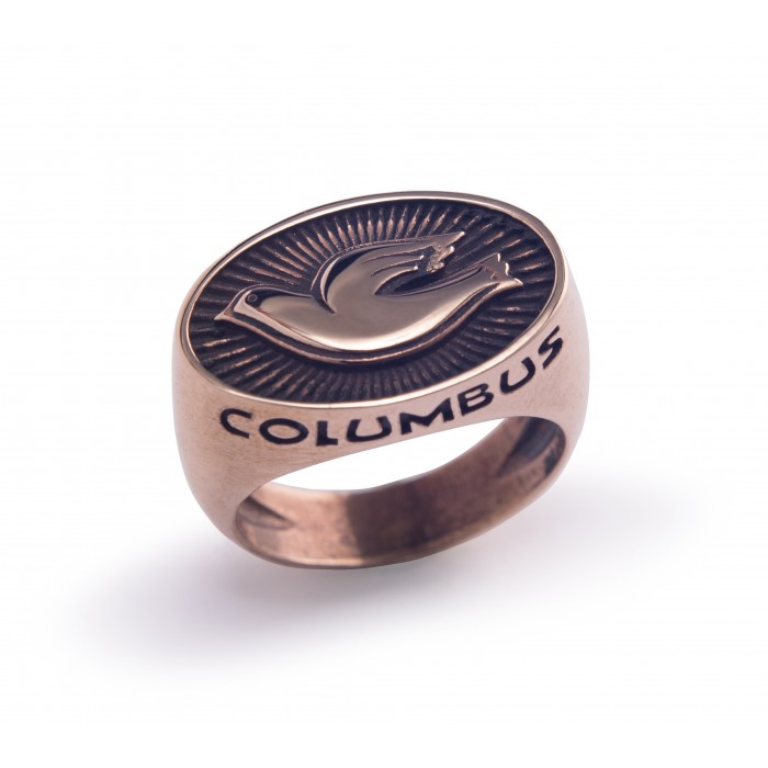 COLUMBUS CENTO RING BRONZE