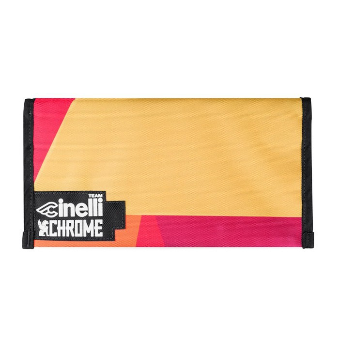 TEAM CINELLI CHROME UTILITY POUCH LARGE