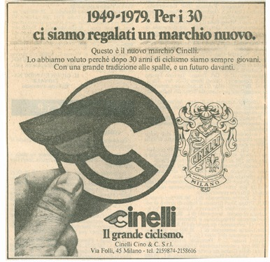 CINELLI NEW LOGO ITALO LUPI