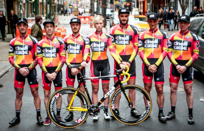 Team Cinelli Chrome: TWO C, ONE CAUSE