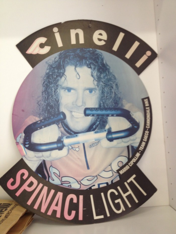 OWN A SLICE OF CYCLING HISTORY - CINELLI SPINACI DISCOVERED